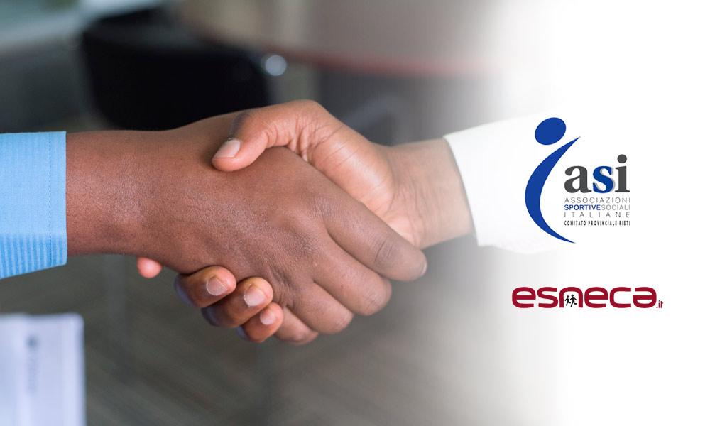 Esneca Business School firma un accordo con Associazioni Sportive e Sociali Italiane