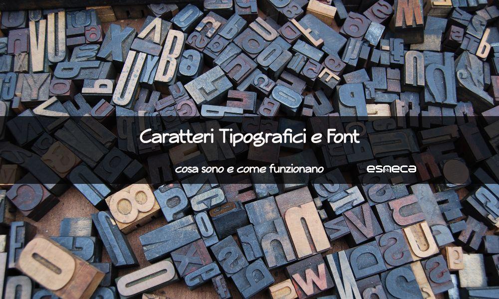 Architettura di caratteri tipografici e font