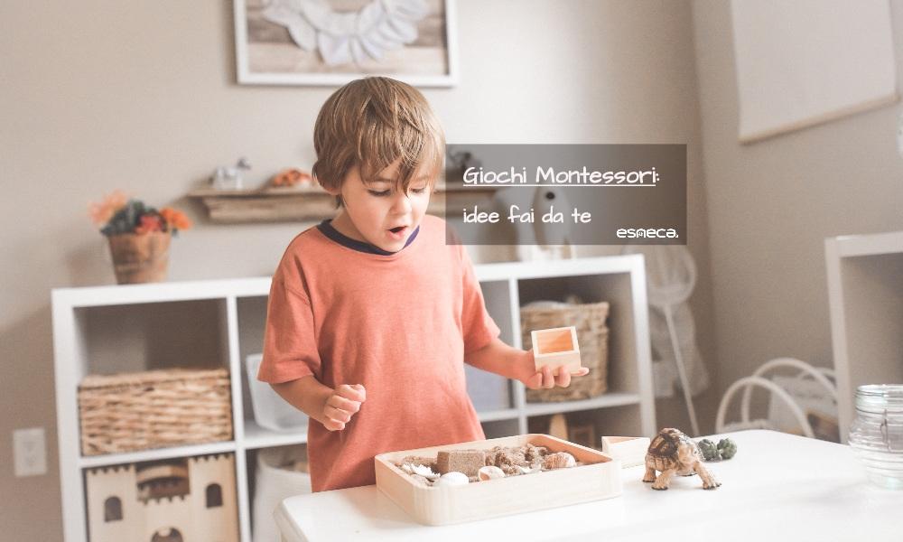 Idee fai da te: Giochi Montessori
